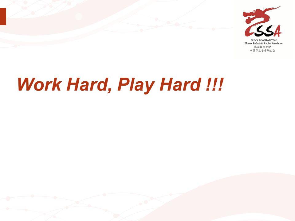 Work Hard, Play Hard !!!