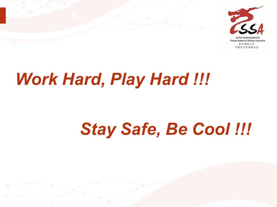 Stay Safe, Be Cool !!!