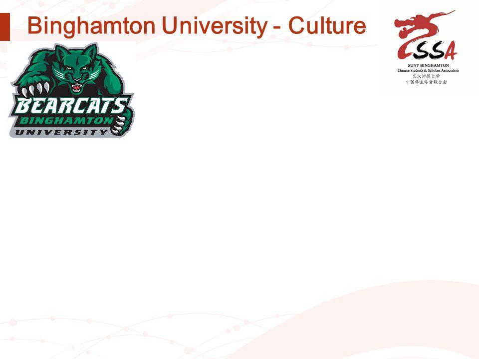 Binghamton University - Culture