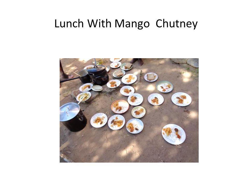 Lunch With Mango Chutney