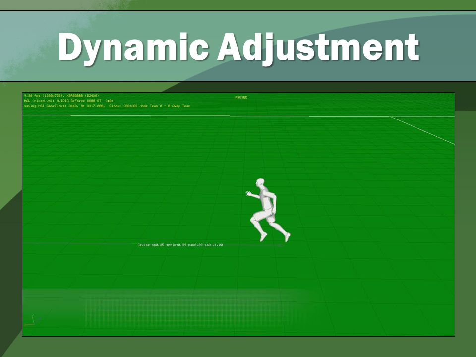 Dynamic Adjustment