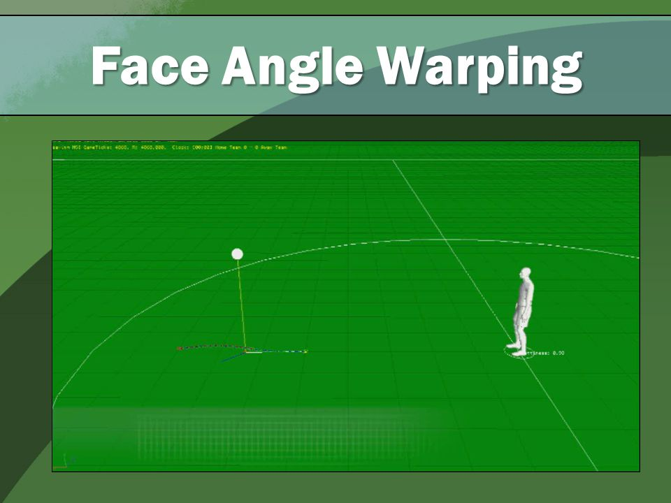 Face Angle Warping