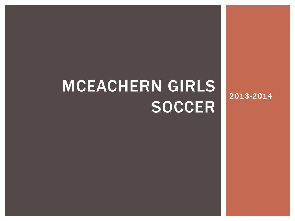 2013-2014 MCEACHERN GIRLS SOCCER