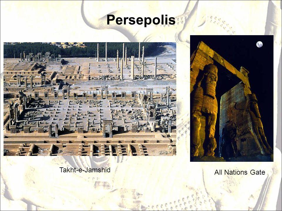 Persepolis All Nations Gate Takht-e-Jamshid