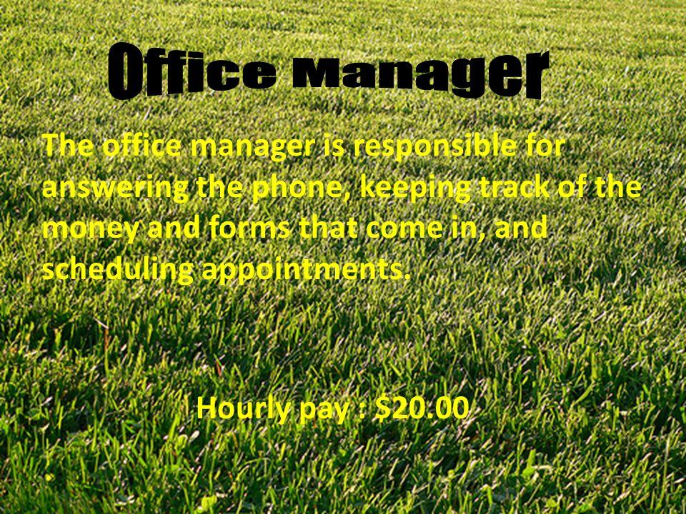 x0182040 y0$20$160$400$800 Hours Money Earned $20.00 per hour Y=20x Weekly income : y=40x20= $800 Monthly income : y=170x20=$3,400 Yearly income : y=2040x20=$40,800