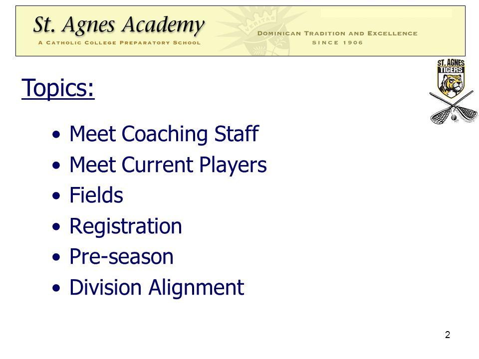 3 Tiger Lacrosse Coaching Staff: Ashley Jorlando Edward Le Debbie Vinelli Spring Season Lacrosse Coaching Staff: Ashley Jorlando-Varsity Coach Amy Lambre-Assistant Varsity Coach ??.