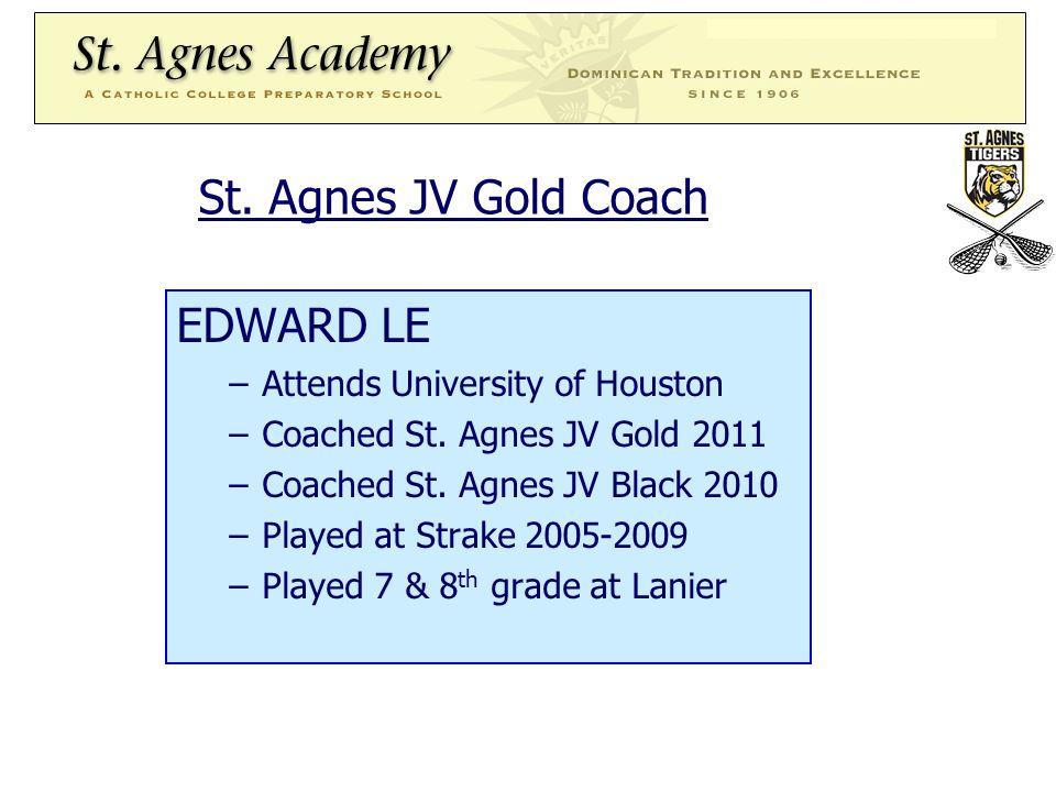 19 St.Agnes Lacrosse needs parent volunteers. 1. Woodlands Play Day (10/16) 2.
