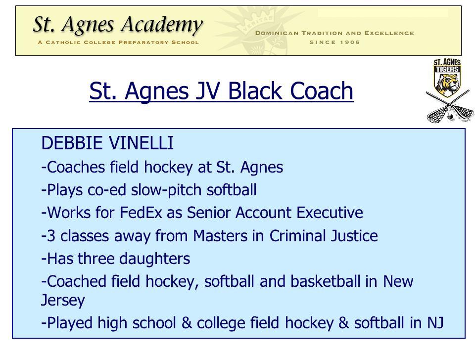 St. Agnes JV Black Coach