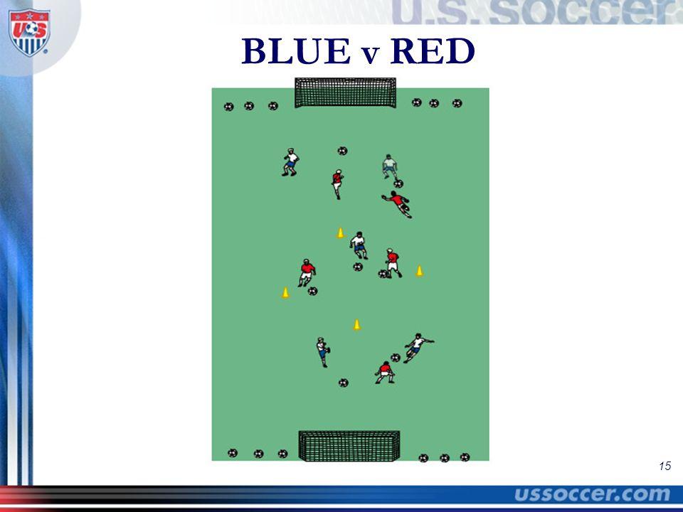 15 BLUE v RED