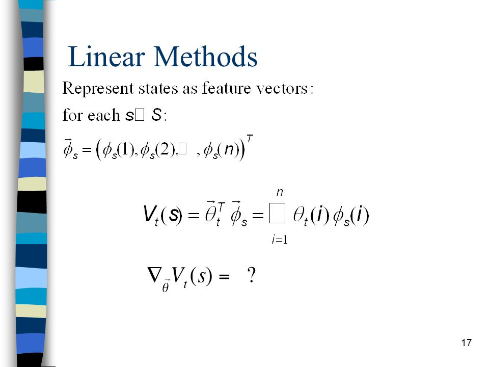 17 Linear Methods