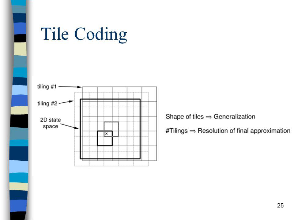 25 Tile Coding