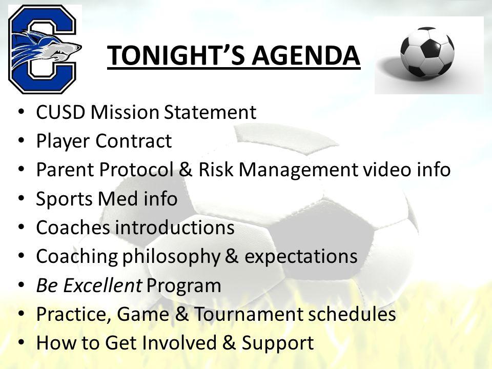 Practice & Game Schedule Practices – Mon-Fri: 3:30 – 5:30 p.m.