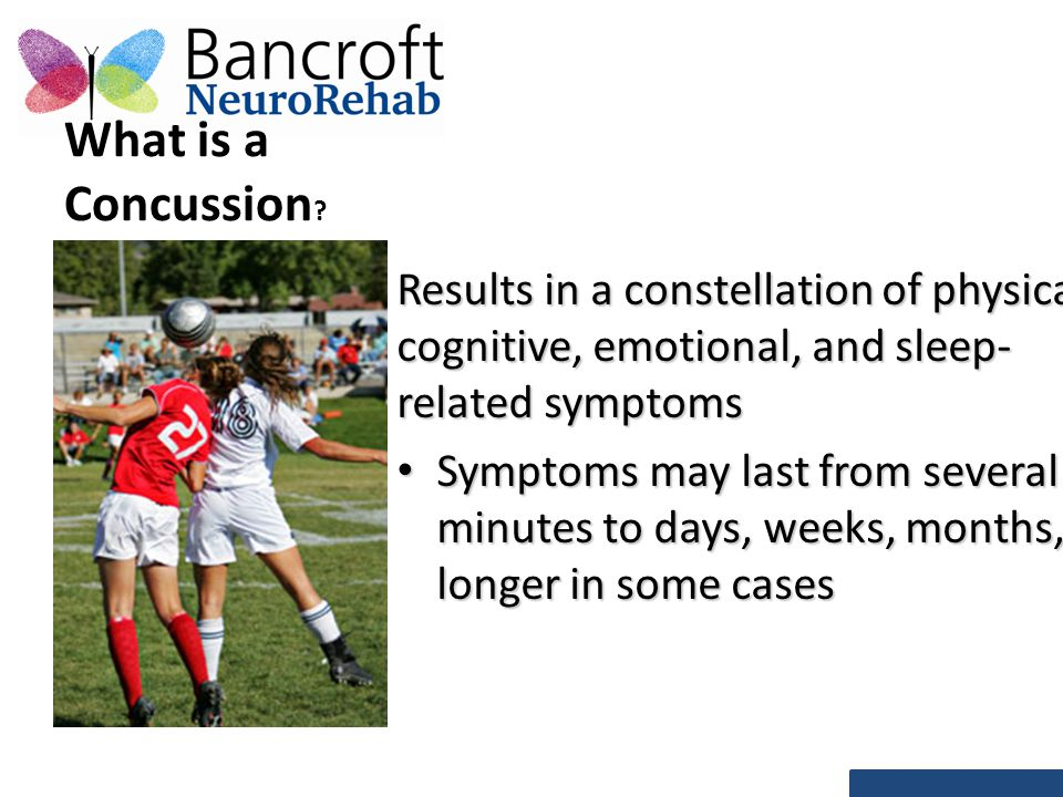 What is a Concussion .