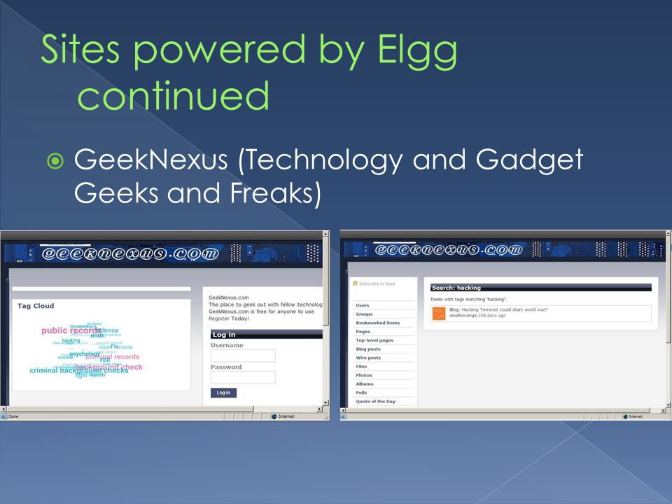  GeekNexus (Technology and Gadget Geeks and Freaks)