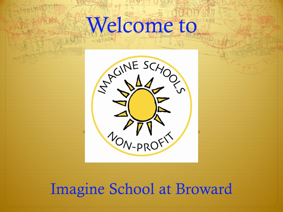 Welcome to Imagine School at Broward