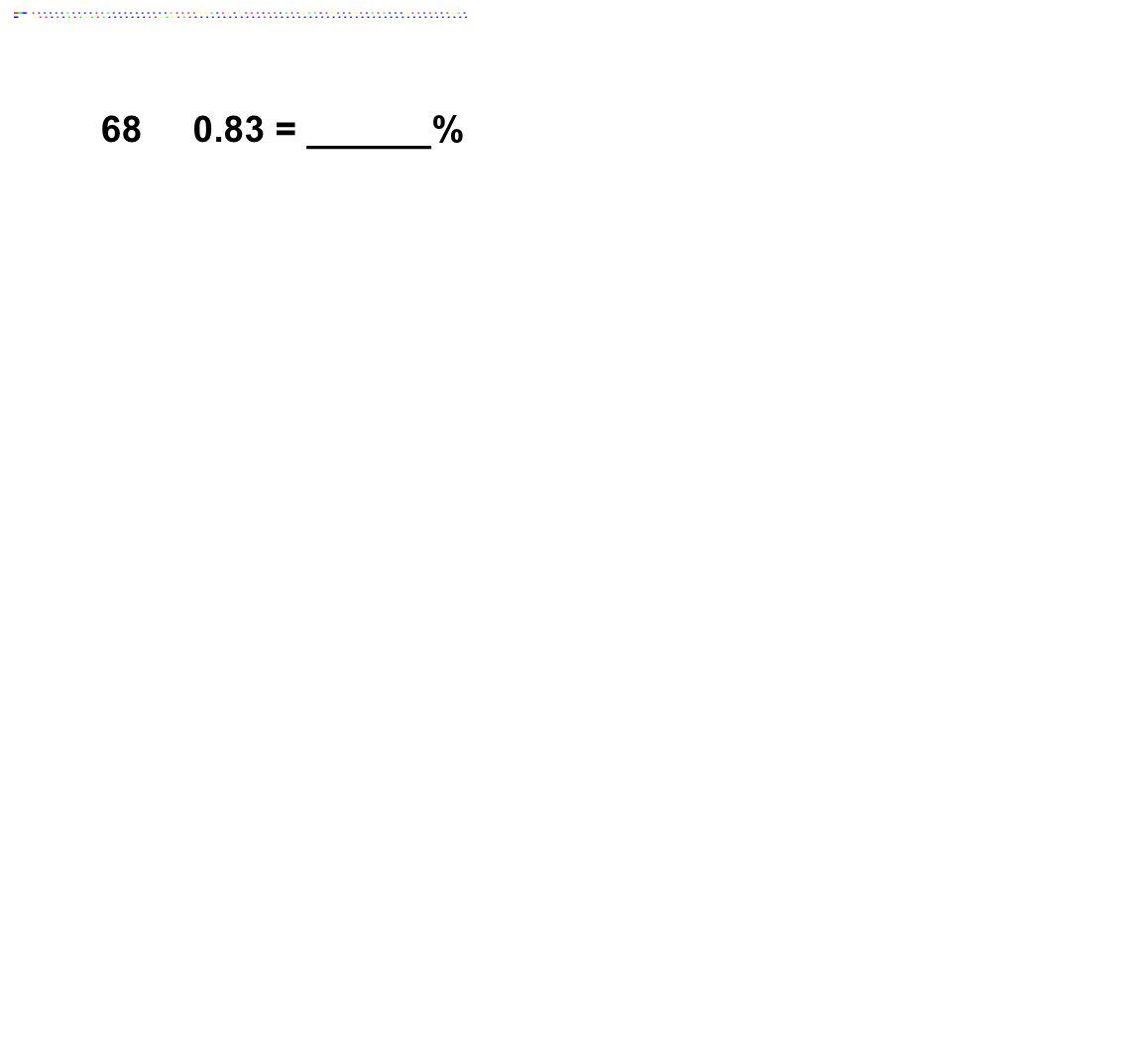 680.83 = ______%