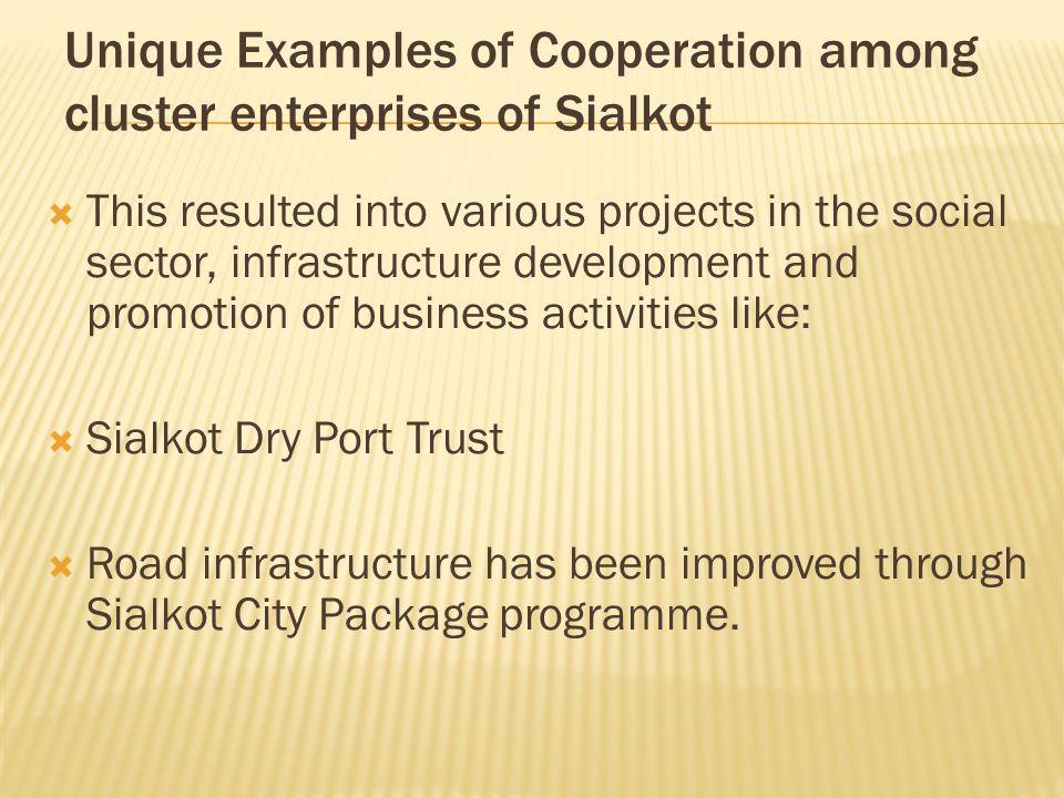  Sialkot International Airport. Sialkot Sports Industry Development Centre.