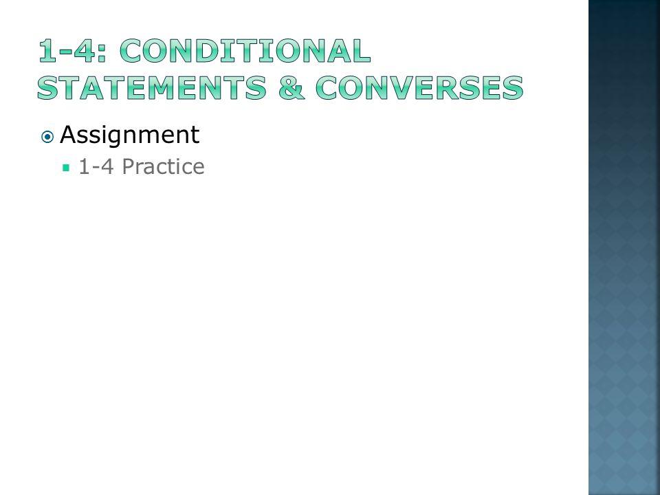  Assignment  1-4 Practice