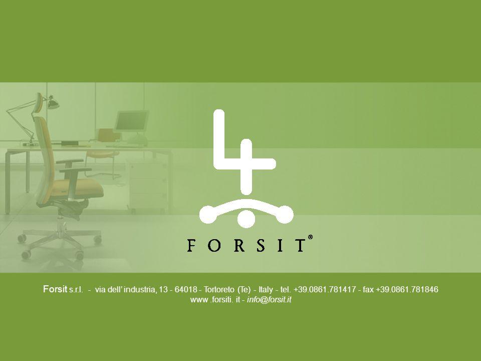 Forsit s.r.l. - via dell' industria, 13 - 64018 - Tortoreto (Te) - Italy - tel.