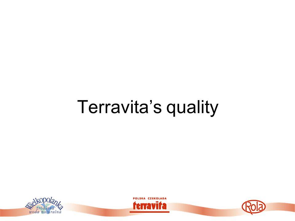 Terravita's quality