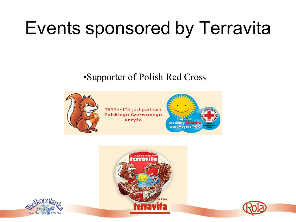 Events sponsored by Terravita Supporter of Polish Red Cross