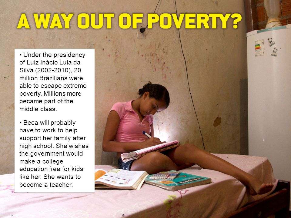 1.What is life like for Beca and her family. PHOTO CREDITS: ©JANINE MAPURUNGA (ALL PHOTOS) 2.
