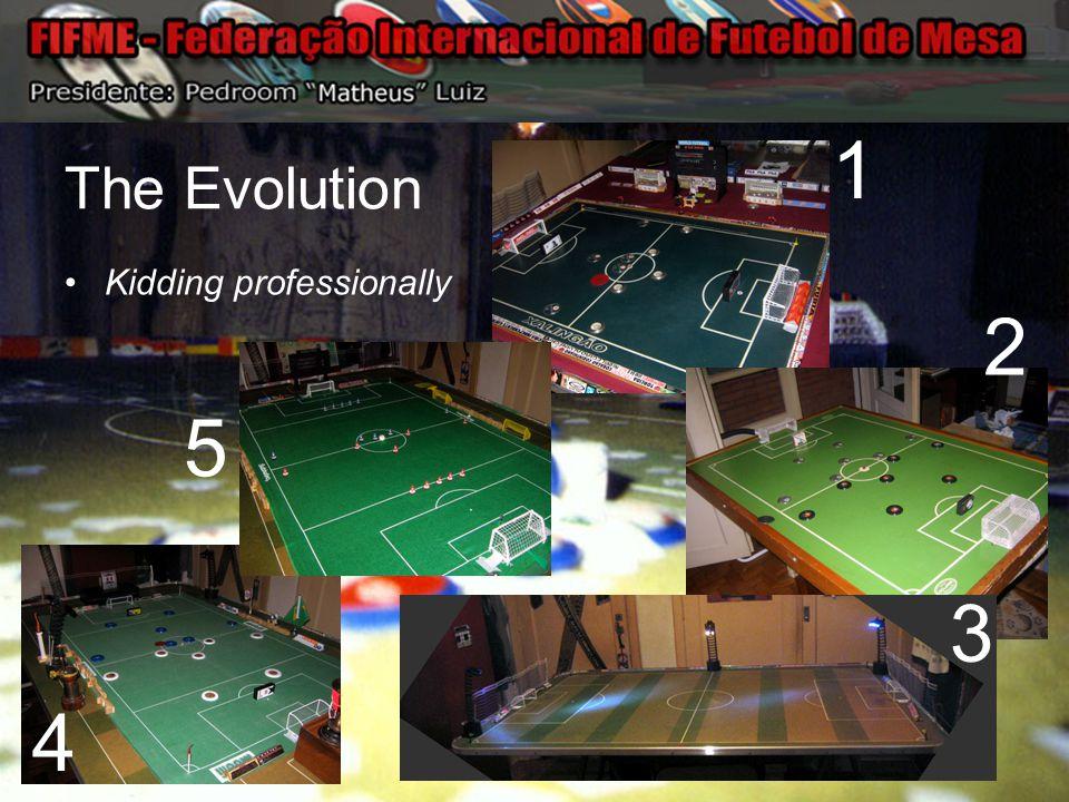 The Evolution Kidding professionally 1 2 3 4 5