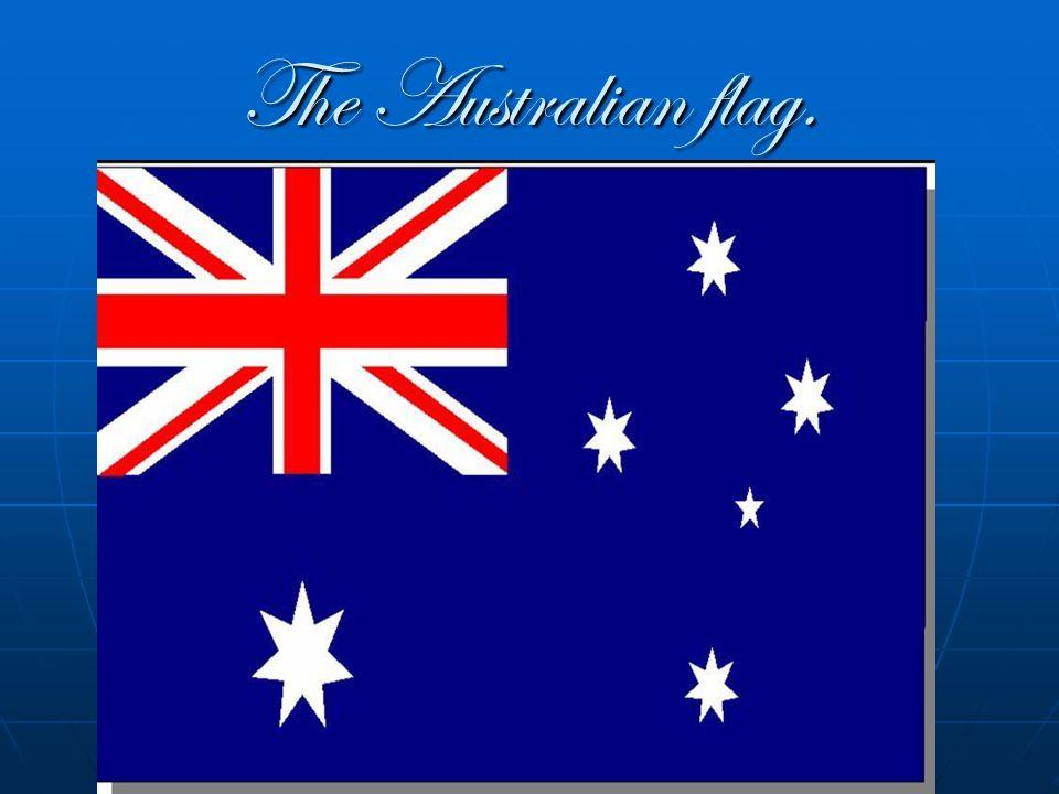 The Australian flag.