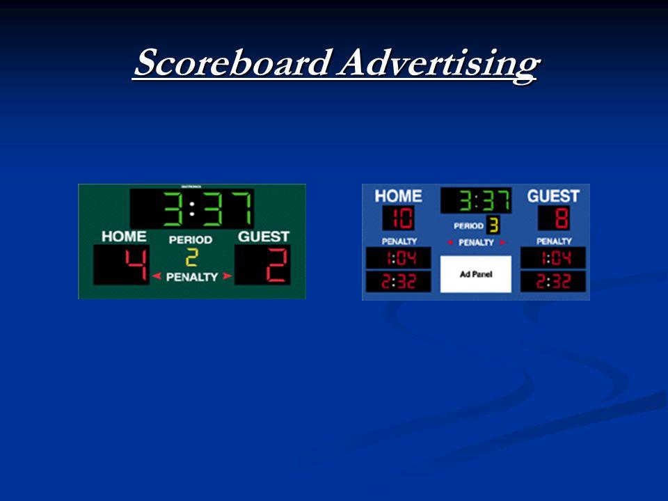 Scoreboard Advertising