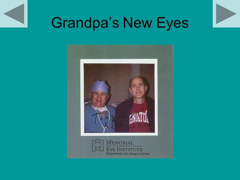 Grandpa's New Eyes