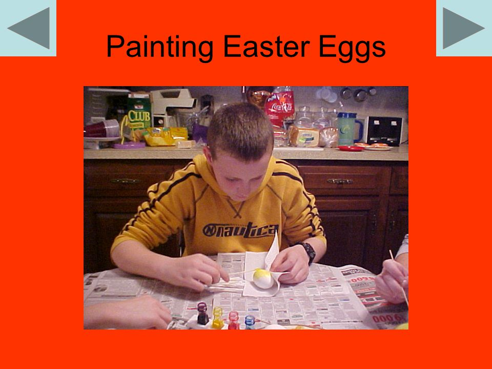 Painting Easter Eggs