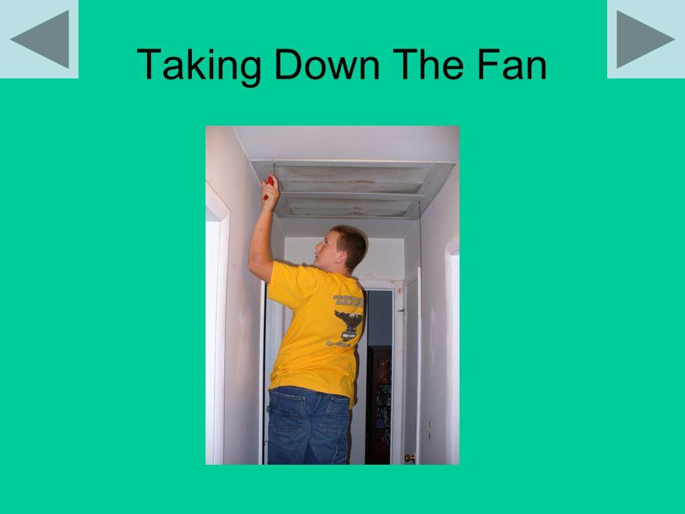 Taking Down The Fan