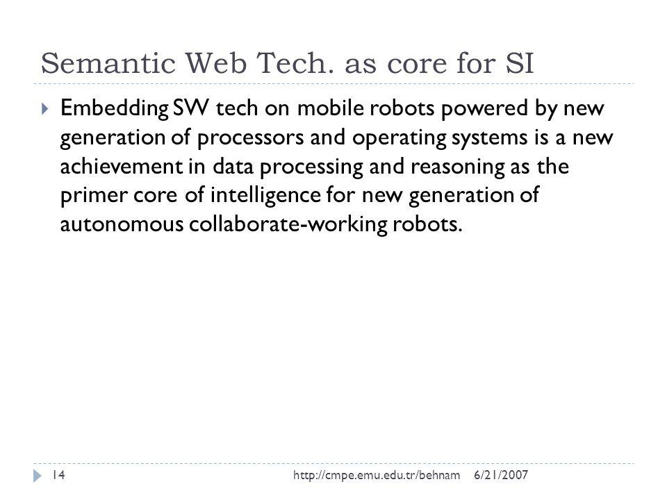Semantic Web Tech.