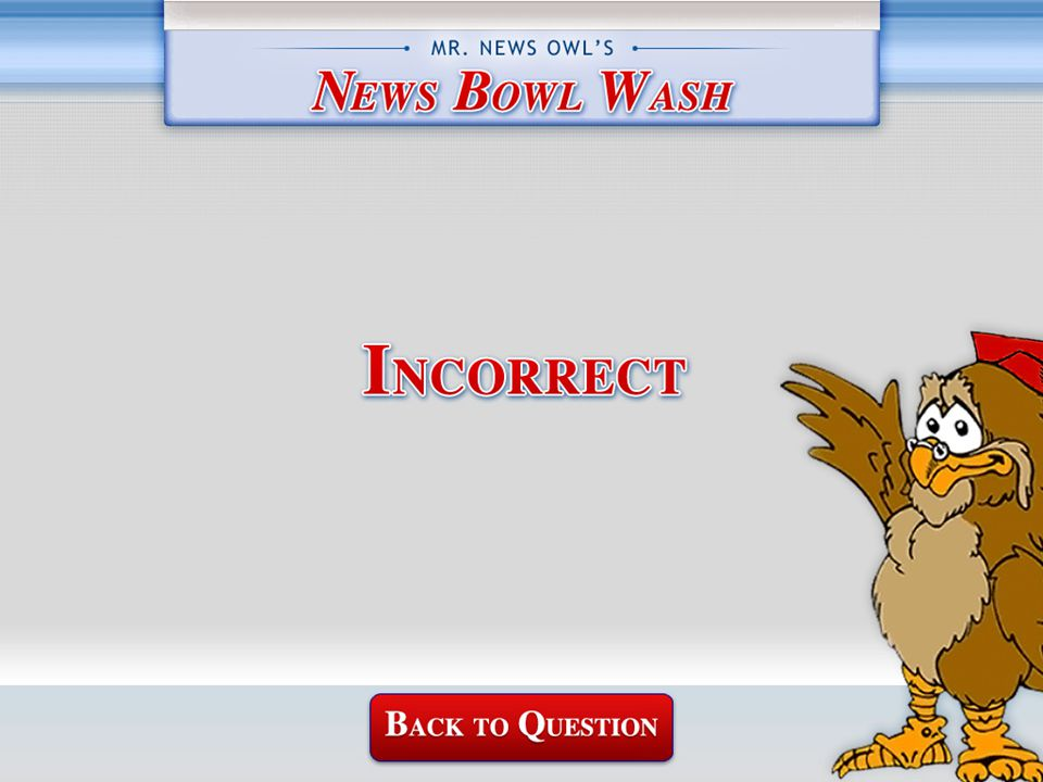 Mr.News Owl's WASH Question A. 90th B. 92nd C. 94th D.