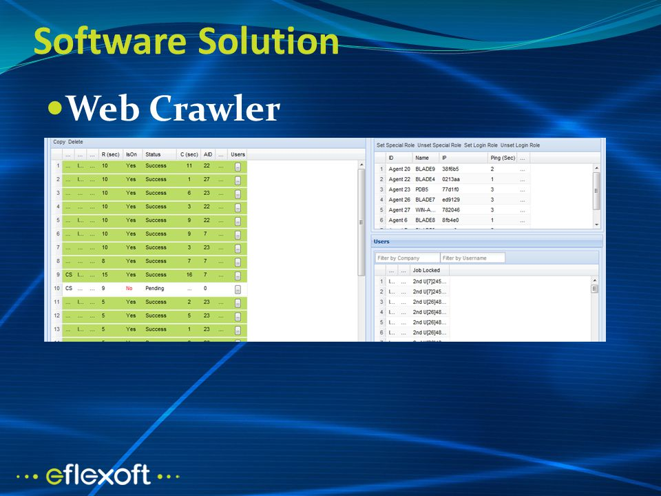 Software Solution Web Crawler