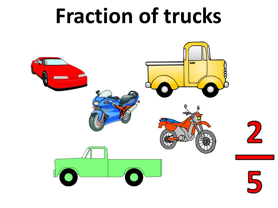 Fraction of trucks