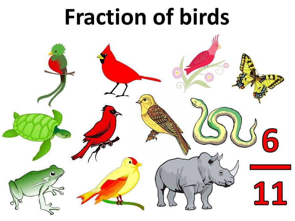 Fraction of balloons NOT green