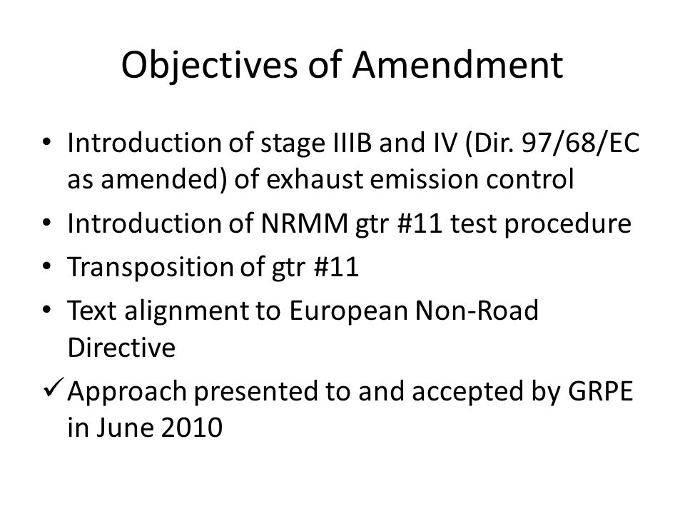 Proposal for draft 03 series of amendments to Regulation No.