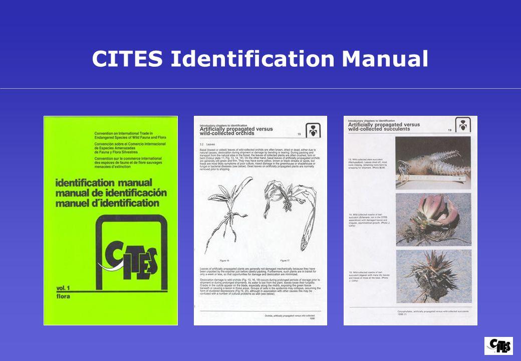 CITES Identification Manual