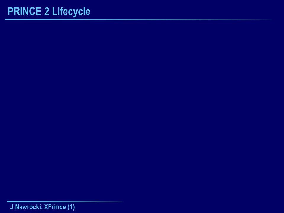 J.Nawrocki, XPrince (1) PRINCE 2 Lifecycle