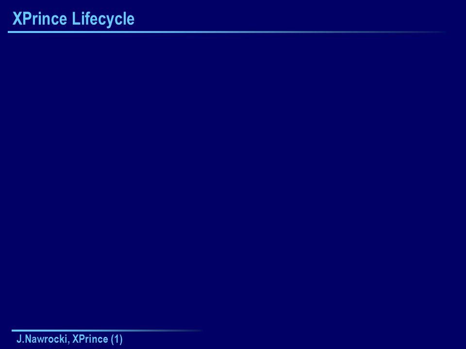 J.Nawrocki, XPrince (1) XPrince Lifecycle