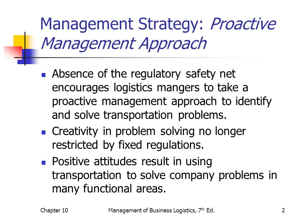 Chapter 10Management of Business Logistics, 7 th Ed.33 Figure 10-6 Example of the Tapering Rate Principle