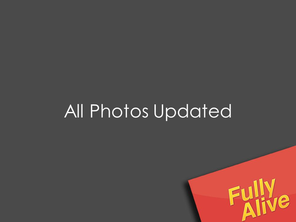 All Photos Updated