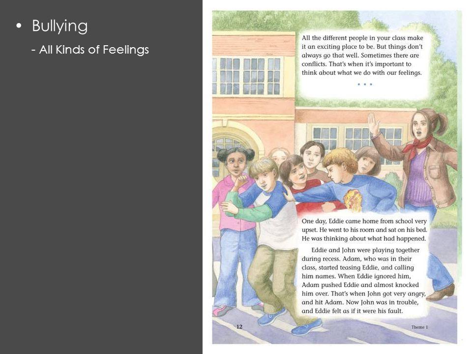 Bullying - All Kinds of Feelings