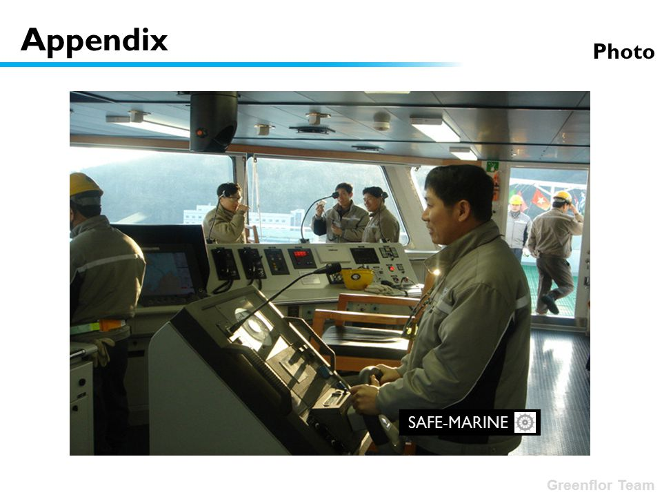 Greenflor Team SAFE-MARINE Appendix Photo