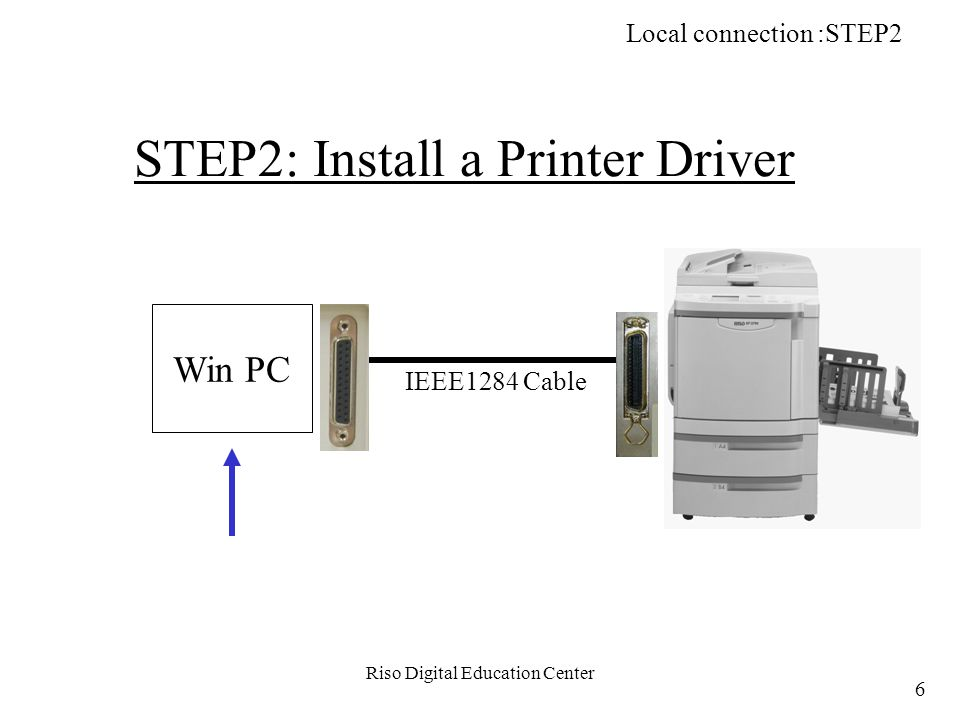 Riso Digital Education Center g-4. Click on Next button. Network Printing (TCP/IP): STEP4 137