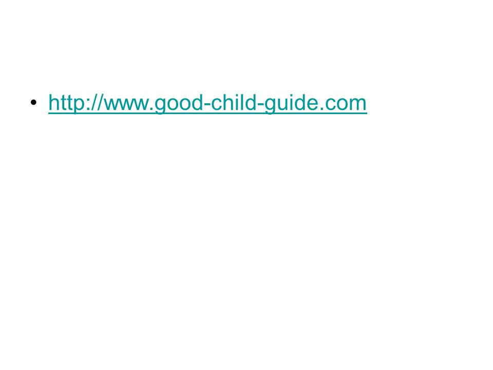 http://www.good-child-guide.com