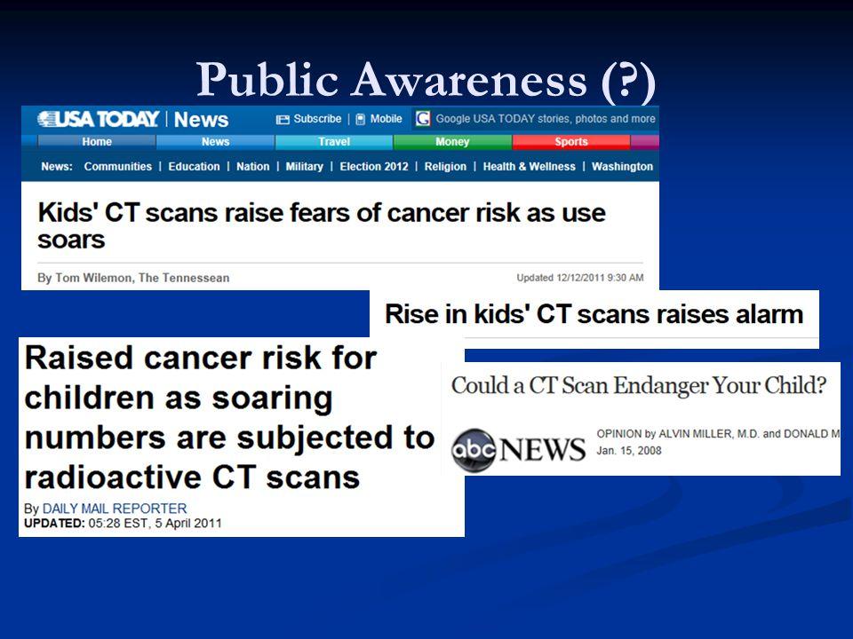 Public Awareness (?)