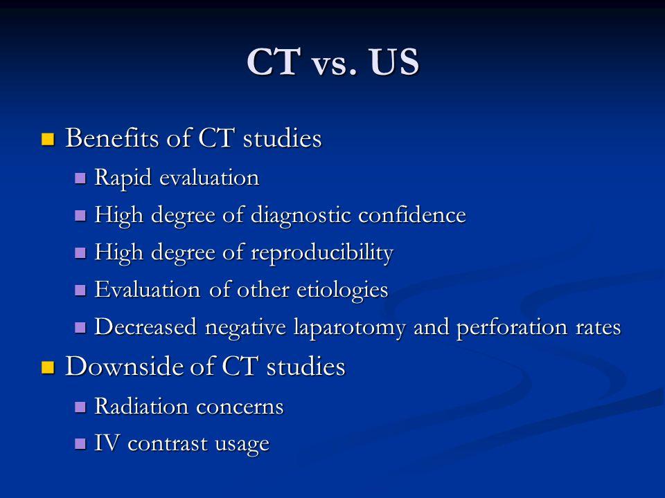 CT vs.