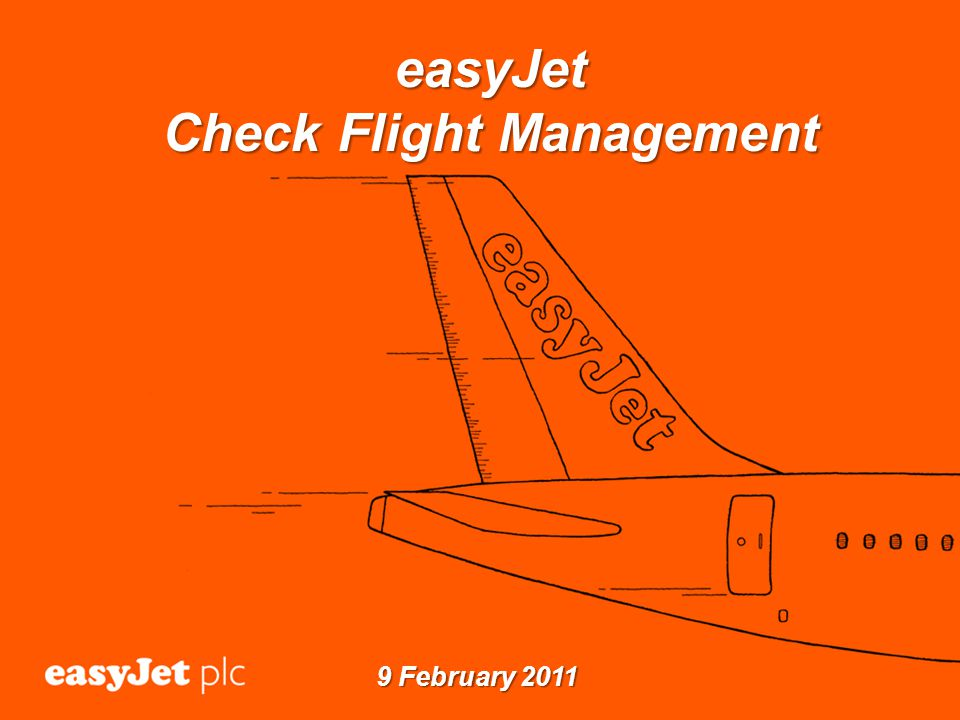 easyJet Check Flight Management 9 February 2011